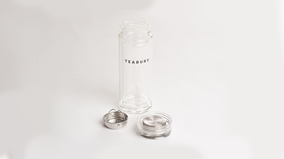 Teabury - Black Tea Flask & Strainer