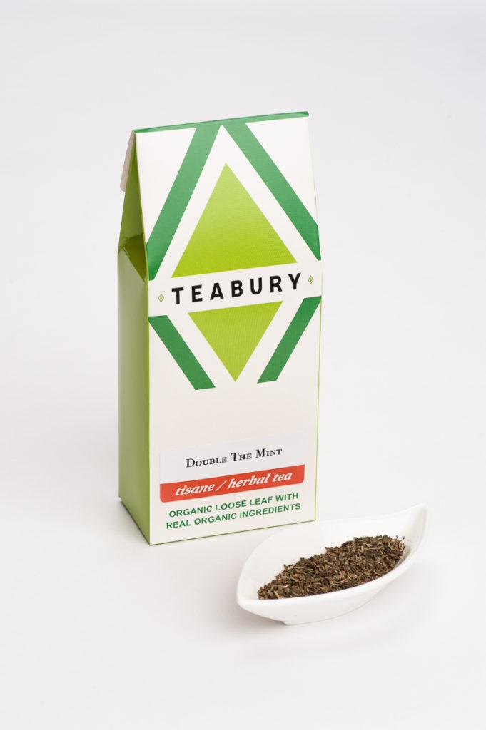 Loose Mint Tea Tisane - Teabury