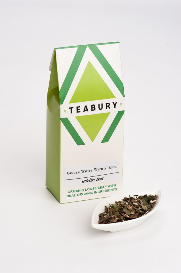 Ginger White Tea - Teabury