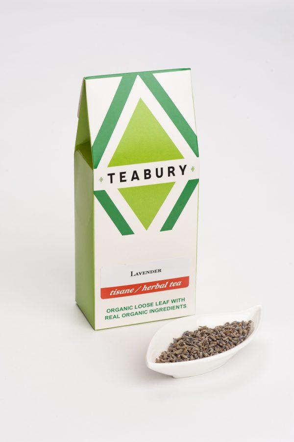 Loose Lavender Tea Tisane- Teabury