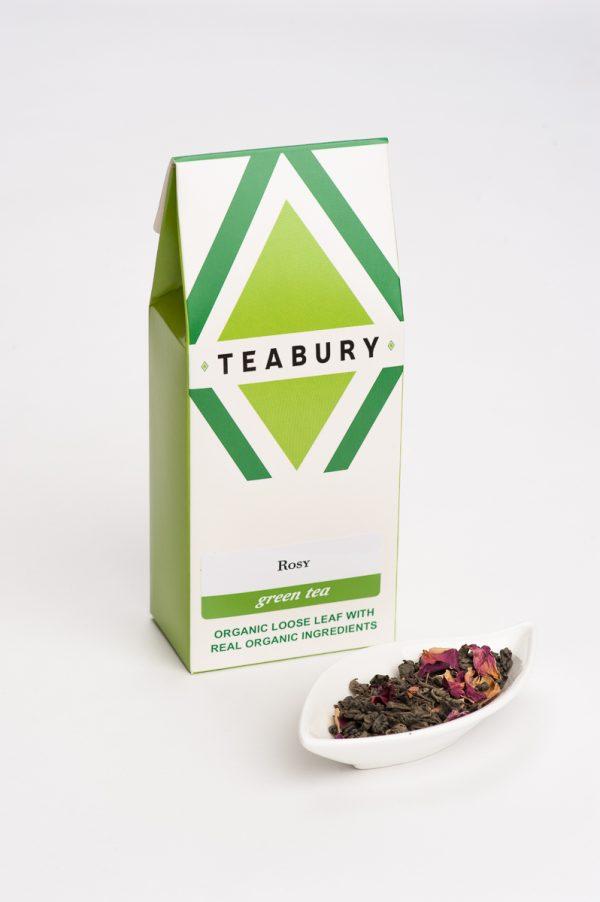 Rose Green Tea - Teabury