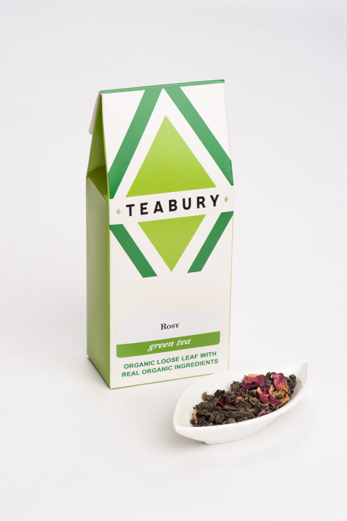 Rose Green Tea - Teabury