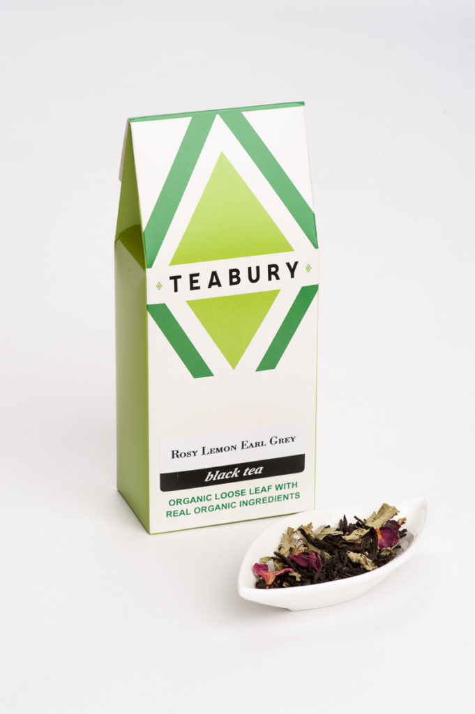 Rose & Lemon Earl Grey Tea - Teabury