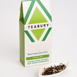 Rose & Lemon Earl Grey Green Tea - Teabury