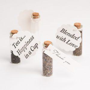 Teabury - Tea Wedding Favours